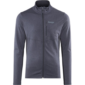 Bergans Fløyen Fleece Jacket Herren dark navy/dark steel blue